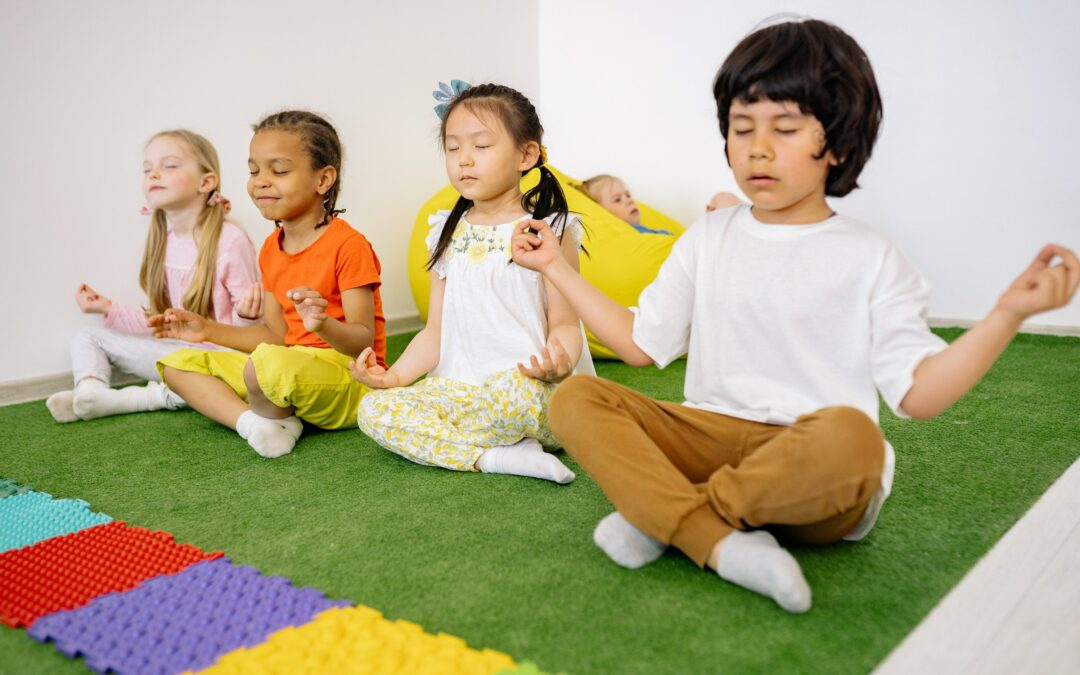 Teaching Yoga at Evergreen